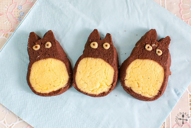 """Totoro"" Icebox Cookies"