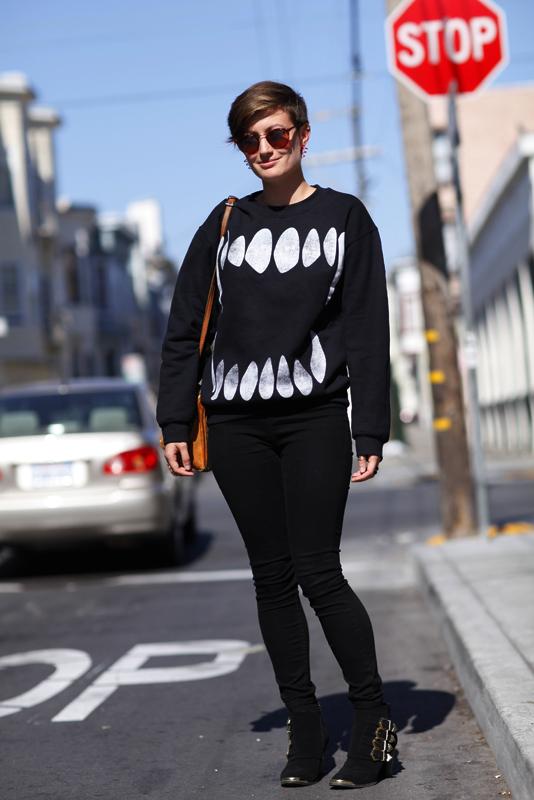 vanessa_sancarlos2013 street style, street fashion, women, San Francisco, Quick Shots, San Carlos Street