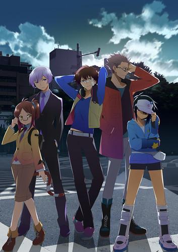 131023(2) - 橫跨ACGN之2014年原創電視動畫《ハマトラ Project》新增3人主角聲優、海報&預告公開中!