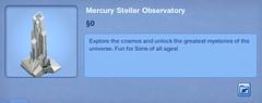 Mercury Stellar Observatory