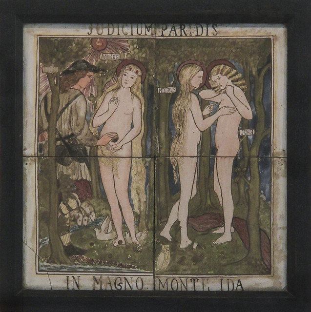 The Judgement of Paris, designed by Edward Burne-Jones