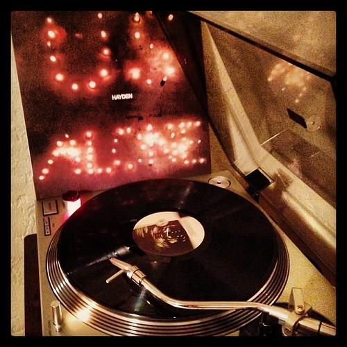 #tonightsoundslikethis #hayden #usalone #laraspick #nowspinning #clubrpm #photographicplaylist #vinyligclub by Big Gay Dragon