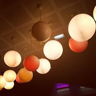 Ljus i stad.