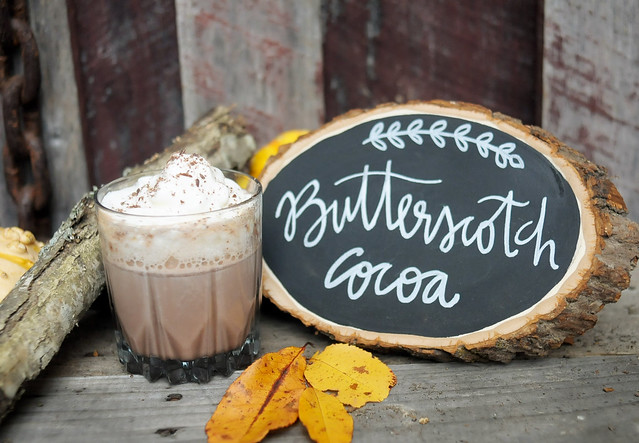 Hot Butterscotch Cocoa Cocktail - KaelahBee.com