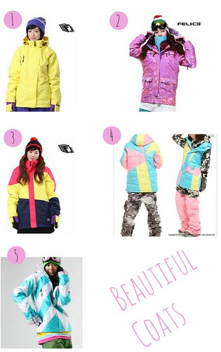Korean Coat Collage