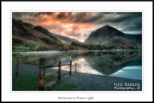 Buttermere Dawn Light
