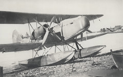 fighter aircraft(0.0), aircraft engine(0.0), aviation(1.0), military aircraft(1.0), biplane(1.0), airplane(1.0), propeller driven aircraft(1.0), wing(1.0), vehicle(1.0), seaplane(1.0),