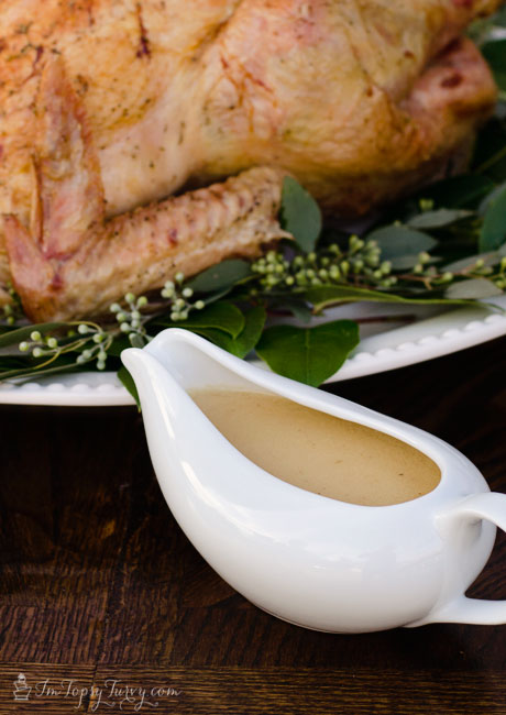 how to make real gravy from turkey
