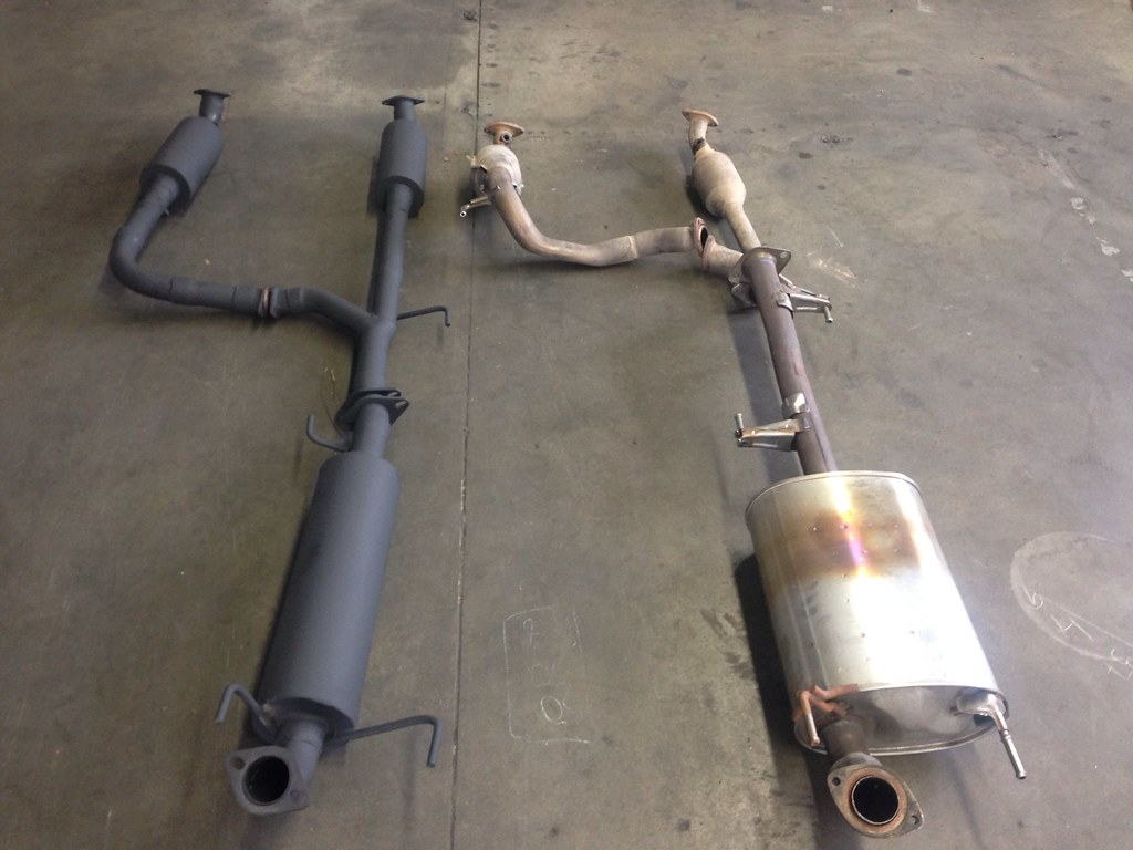 Introducing The Bamufflers Off Road Racing Y Pipe For The