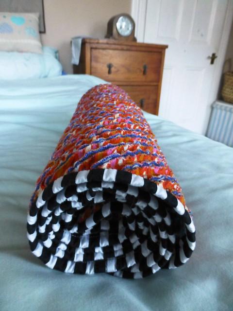 chenille baby blanket 010