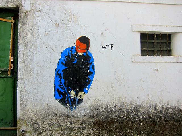 stencil | wtf | monchqiue . algarve . portugal 2013