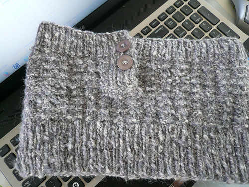 mottled grey, finished