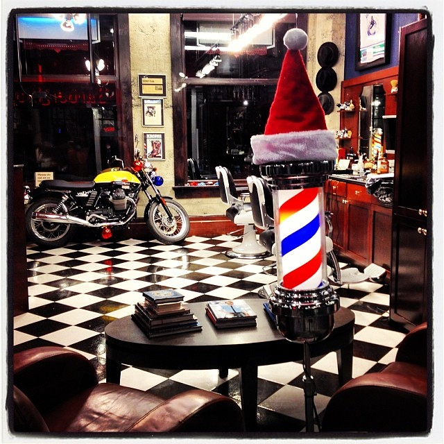 Christmas Decorations Store Vancouver: Good Morning And Happy Monday From The Barber Shop