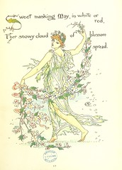 "British Library digitised image from page 45 of ""Flora's Feast. A masque of flowers, penned & pictured by Walter Crane"""