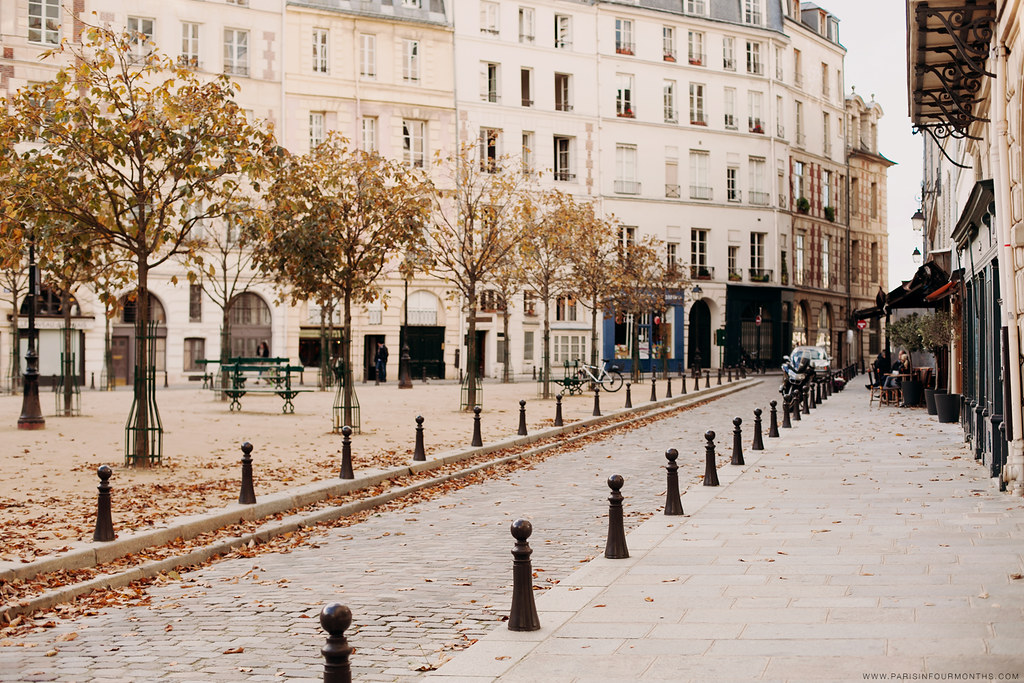 Place Dauphine, photo by Carin Olsson of Paris in Four Months
