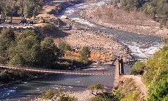 Bridge on the River Beas.