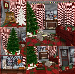 Christmas Expo 2013: Winter Lodge Living Room
