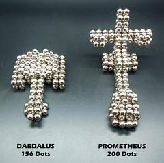 1 Set Stargate Ships (Daedalus & Prometheus) by waynehjr1