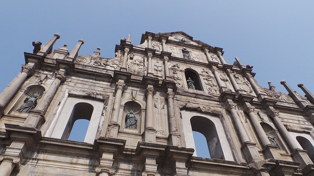 St.Paul Ruins in Macau