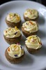 Earl grey cupcakes with almond cream cheese frosting