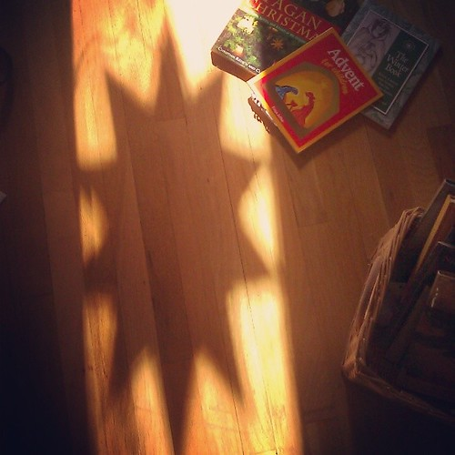 #advent #solstice #Yule #sun #shadow