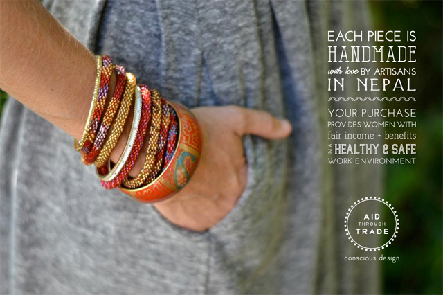 5 trade through trade bracelets ethical fashion sustainable style