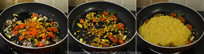 How to make dal fry - Step3