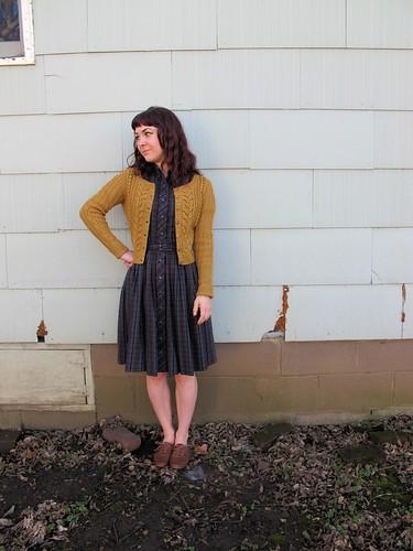 Agatha Sweater + Vintage D