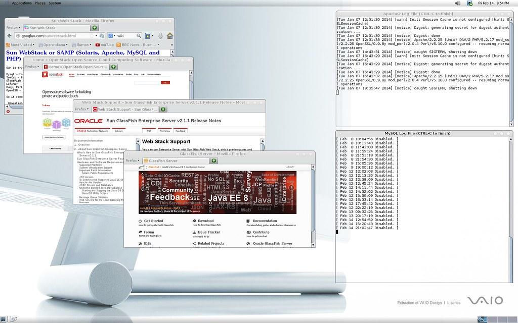 Glassfish Server and Webstack SAMP cloud technology for Op… | Flickr
