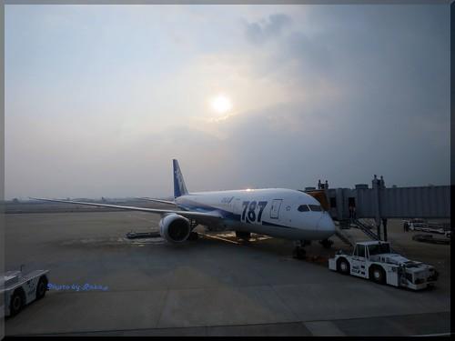Photo:2014-01-18_Life Log Book_【ANA】帰りは休日移動だったので B787 を狙ってみました 伊丹>羽田-03 By:logtaka