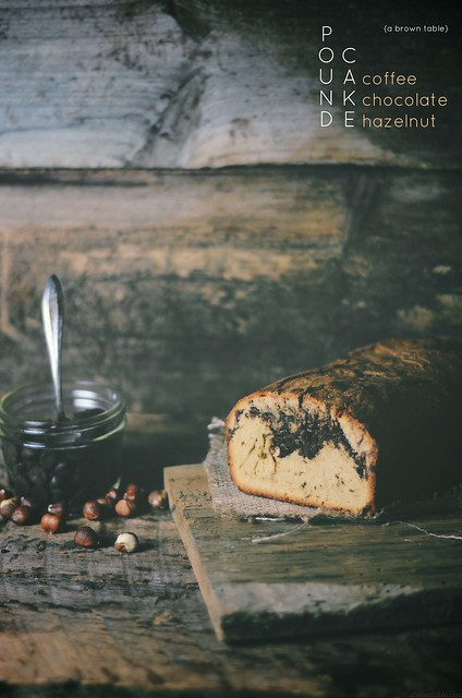 chocolate coffee hazelnut pound cake #food #foodphotography #foodstyling #cake #dessert #chocolate