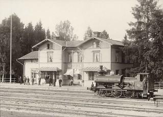 Hofors järnvägsstation