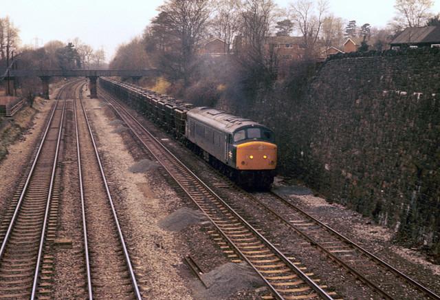 45065 Barrow upon Soar 6E54 3rd December 1980