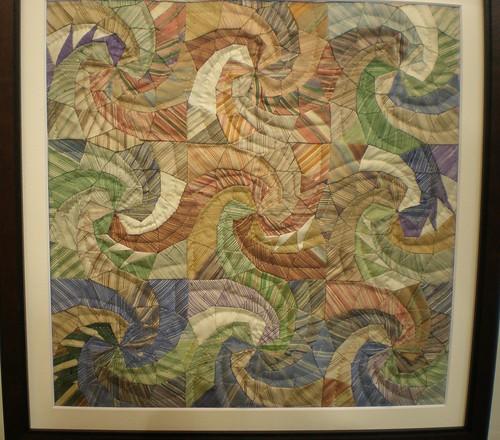 Framed/Miniature Swirl Quilt