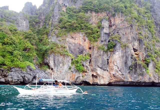 El Nido Palawan island hopping snorkeling spot