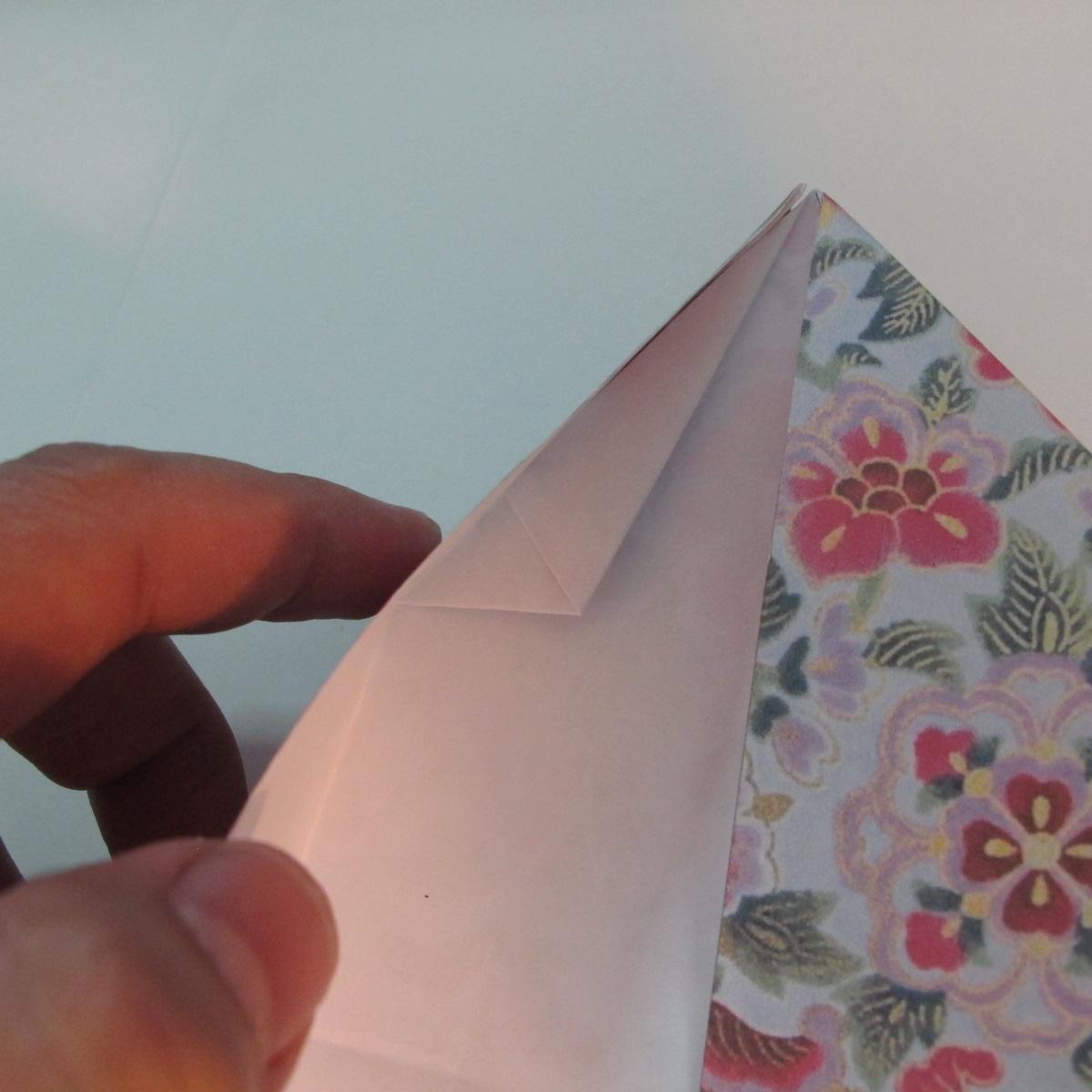 การพับกระดาษเป็นรูปหัวใจแบบ 3 มิติ 027