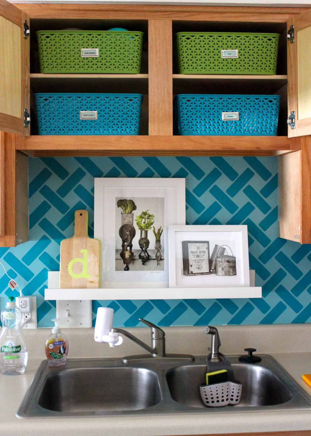 Storage ideas for little upper cabinets the homes i have for Cabinet storage ideas kitchen
