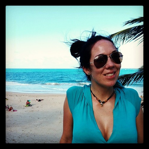 @genmae5 at Condado Beach in San Juan...