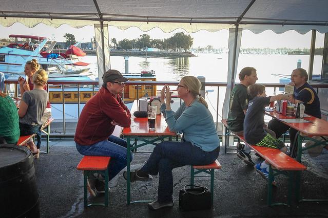 Brotzeit Lokal a Bavarian biergarten in Oakland