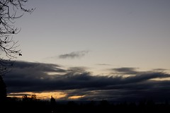 Klaus Naujok posted a photo:	The rain clouds are moving out this morning. So much for our 3 days of rain. Photos taken with Konica Minolta AF DT 18–70mm @ 50mm (75mm FF).