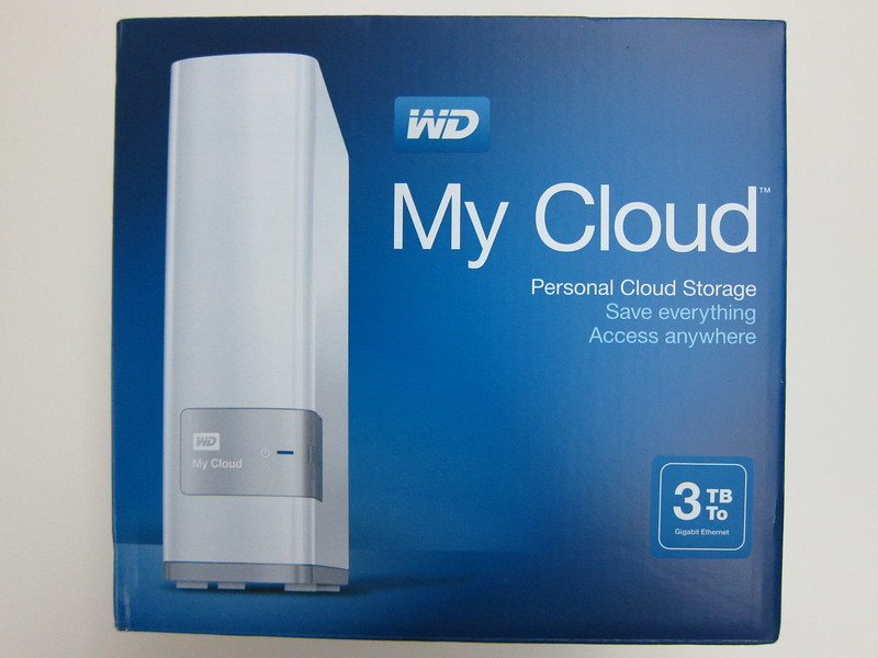 WD My Cloud - Box Front
