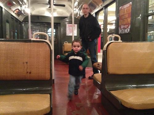 Transit Museum birthday