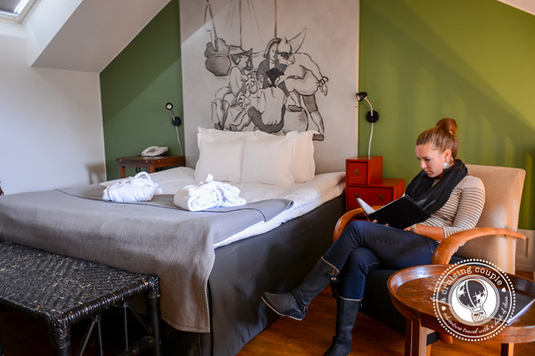 Stallmästaregården | Historic Inn with Modern Flare in Stockholm Stallmastaregarden Room
