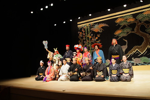 Group photo after the Kumi Odori tour (March 20, 2014)