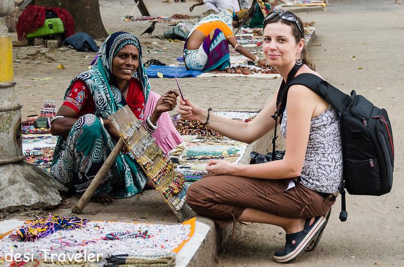 Jewelry Shopping in Kerala Ola Wysocka travel blogger