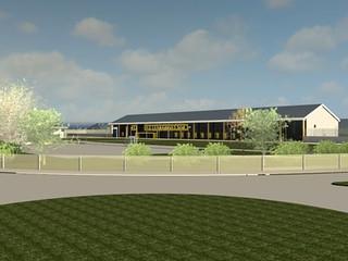 North Wales Prison Indicative Design