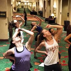 HTEDance Staff Retreat 2014 Rookies - Bringin' it!!