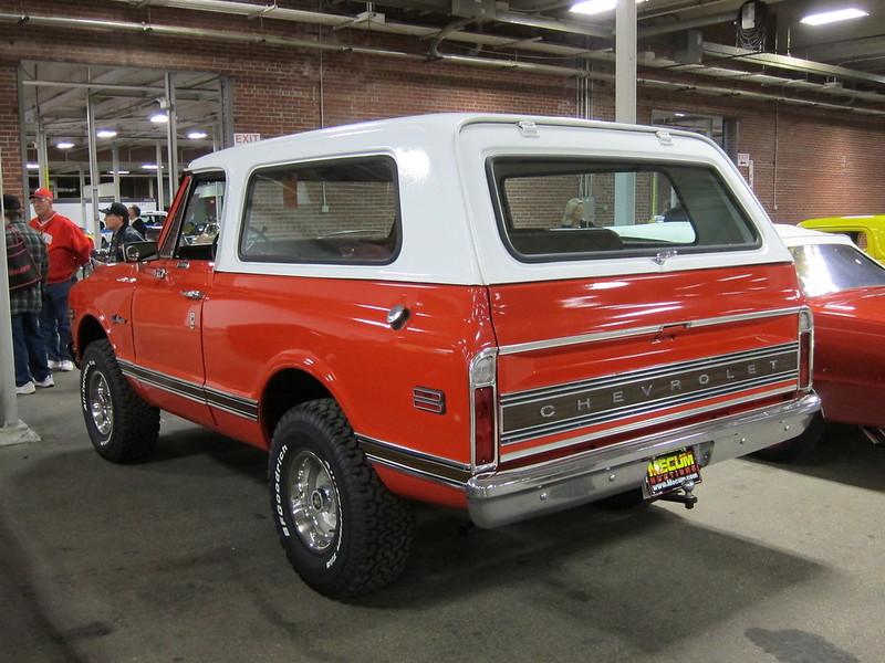 1972 Chevrolet Blazer a