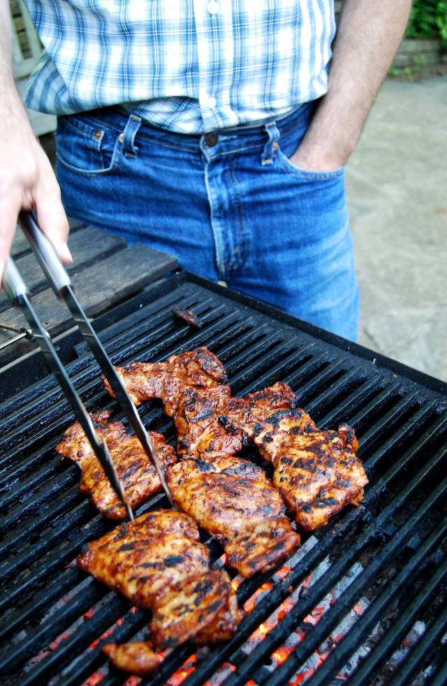 Skinny Sticky Storcupbard Barbecue Chicken 4