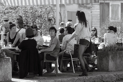 voyage street travel girls blackandwhite bw woman sun france streets love nature café girl monochrome beautiful beauty fashion female youth bar laughing wonderful french skinny mono cafe model women frankreich couple jung erotic noiretblanc candid sony femme bra models young streetphotography teens couples talk streetscene scene teen 55mm teenager traveling lovely alpha frau talking temptation mode miniskirt busty mädchen hollyday streetview femmes schönheit frauen voyages nonnude voluptuous minirock downblouse schwarzweis provencealpescôtedazur reillanne hauteprovence minijupe a7r